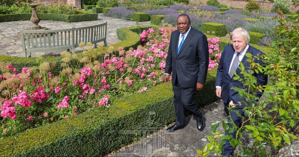 Prime Minister Johnson reiterated his administration's commitment to continue working with Kenya.
