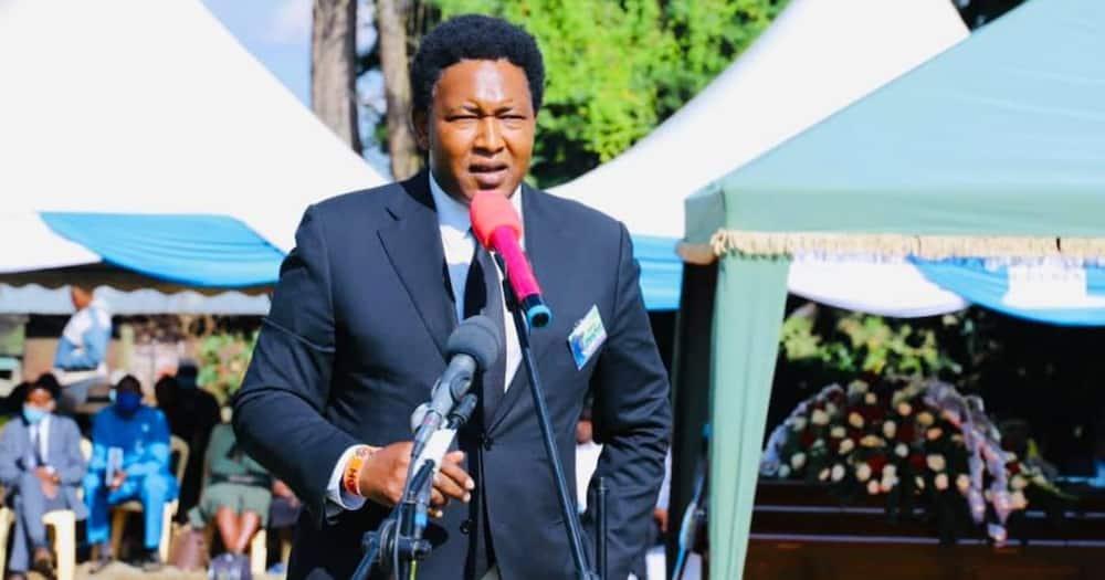 Narok Senator Ledama Olekina. Photo: Ledama Olekina.