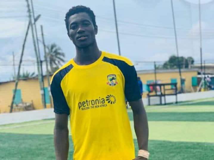 Ibrahim Adom: Ghanaian striker dies after he drowned in swimming pool
