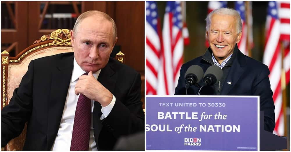 Putin not ready to recognise Biden as winner of US election