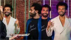 Liverpool superstar Mohamed Salah stunned after meeting lookalike wax of himself