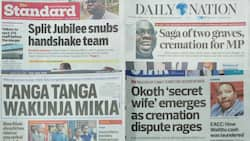 Kenyan newspapers review for August 1: Pastor James Ng'ang'a makes good his threat, raids 'kiosk' in Nyandarua