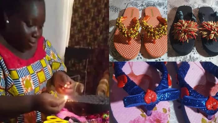 Sarah Obeng Amoako: Woman Living with Autism Makes Beautiful Slippers