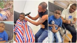 Kind Man Shares Beautiful Photos of Young Boy He Has Been Taking Care of After Finding Him Dumped in Forest