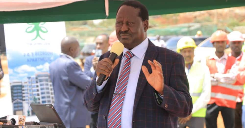 Raila Odinga tests positive for COVID-19 after spending days in hospital