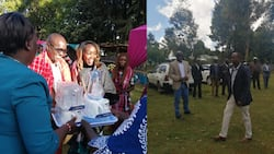Sam Shollei gets engaged to new lover amidst allegations of divorce from Gladys Shollei