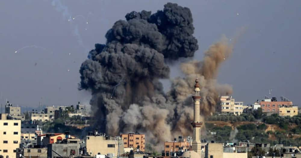 Israeli Military Brings Down Building Hosting Media Houses in Gaza an Hour After Warning