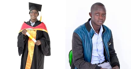 Can you secure him a job? This 24-year-old masters degree holder from Baringo is crying out