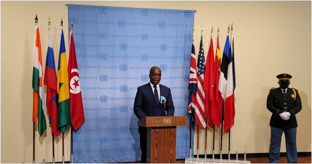 Kenyan flag raised in UN Security council ceremony after state secured slot