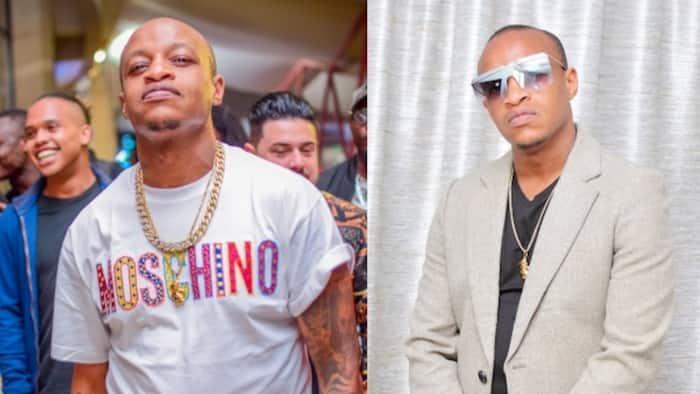 Rapper Prezzo holds celebrity-filled birthday bash at Nairobi club