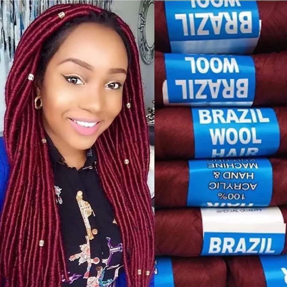 Brazilian wool hairstyles
