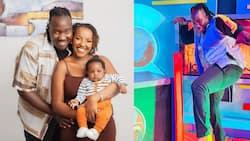 Willis Raburu, Girlfriend Ivy Namu Unveil Cute Son's Face