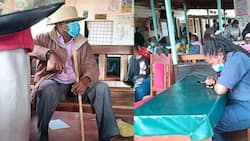 Governor Muthomi Njuki Dresses Like Old Man to Inspect Services at County Hospital, Witnesses Laxity