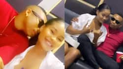Too close: Otile Brown, Hamisa Mobetto raise eyebrows after getting spotted sharing cosy moments
