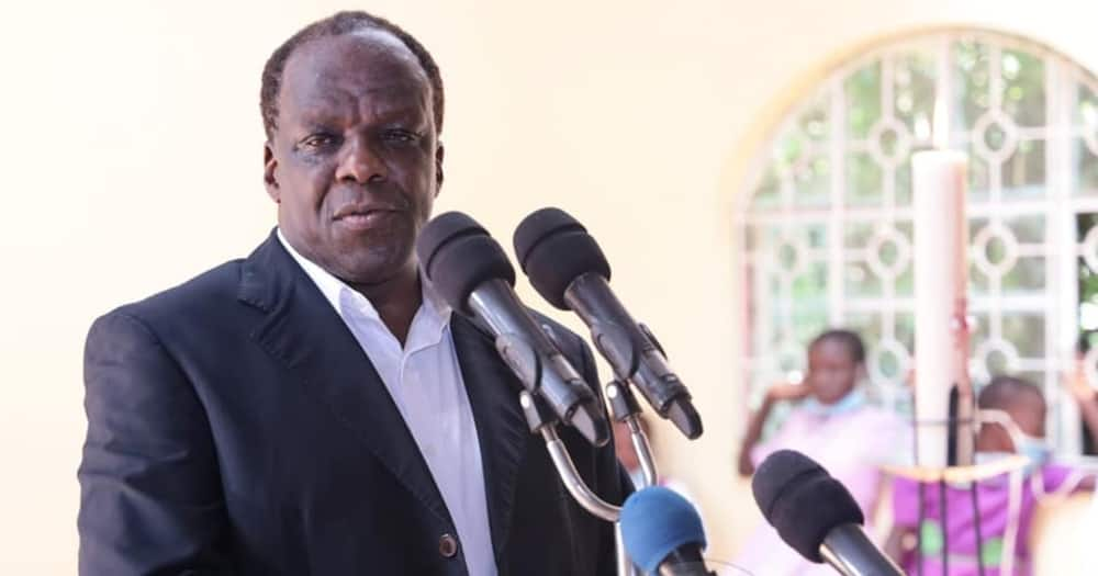 I'd Rather Go for Another Post than Oppose Raila, Wycliffe Oparanya Says