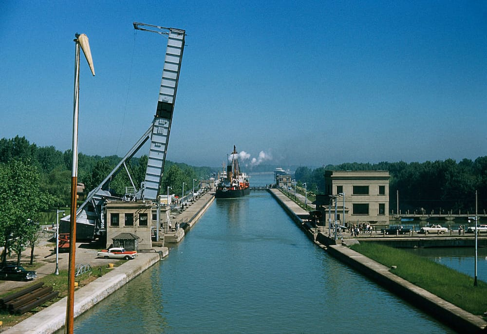 biggest canals in the world