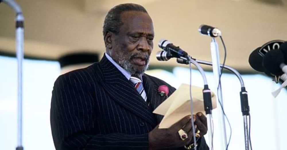 Mzee Jomo Kenyatta was the father to Kenya's fourth president, Uhuru Kenyatta.