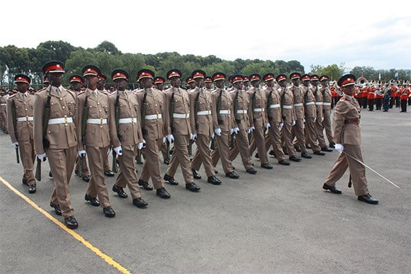 Kenya Army ranks and salaries