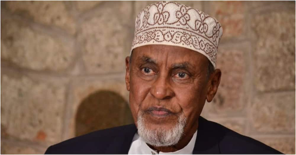 The late Garissa Senator Yusuf Haji. Photo: ODPP