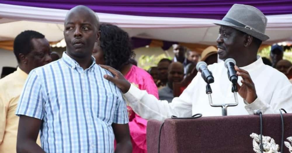 Raila Odinga Junior hits out at his father's ODM party, says it has lost its way