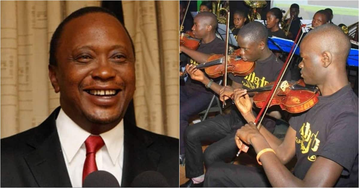 Uhuru falls in love with Ghetto Classics, dedicates song to Kenyans as they bid goodbye to 2018