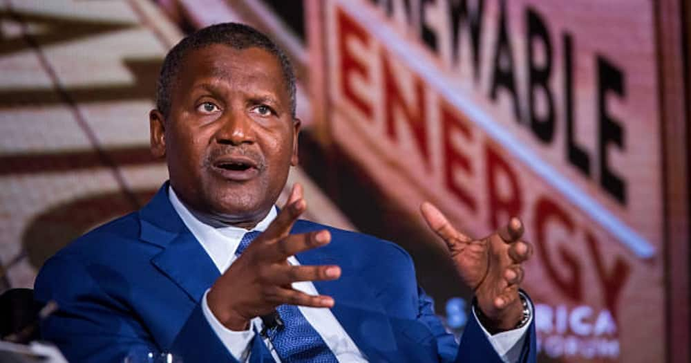 Aliko Dangote has investments in several African countries.