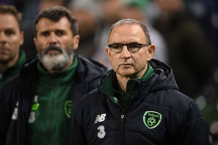 Ireland manager Martin O'Neill, assistant Roy Keane shown the door after pitiful performance