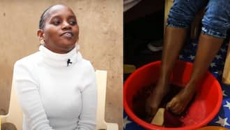 I use My Legs To Do Household Chores But My Son Helps Out, Josephine Mwende