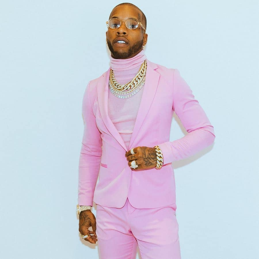 What did Tory Lanez do for his hair?