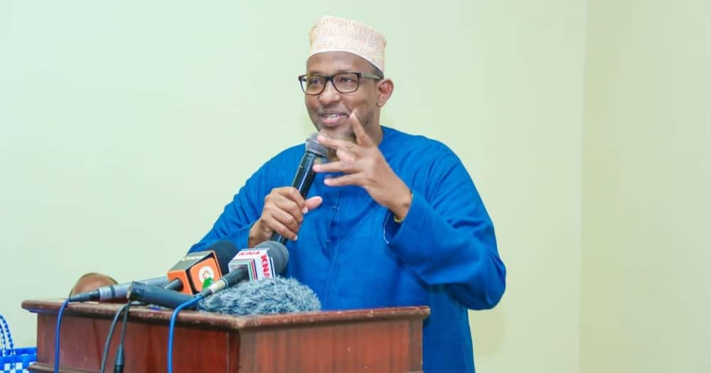 Aden Duale said the president can only be elected by the electorate and not some deep state operated by state mandarins.