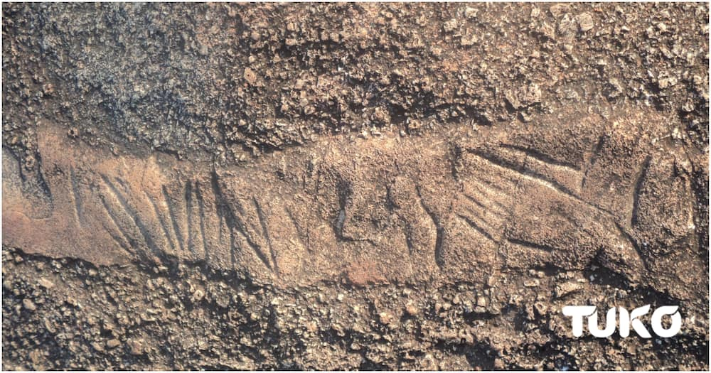 Vihiga Rock on Which Jesus Walked , Left Footprints and Other Symbols After Finishing His Work