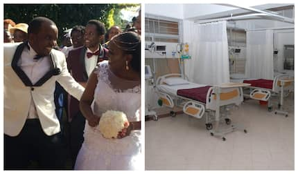 Kenyans who met in India for kidney transplant tie the knot in beautiful ceremony