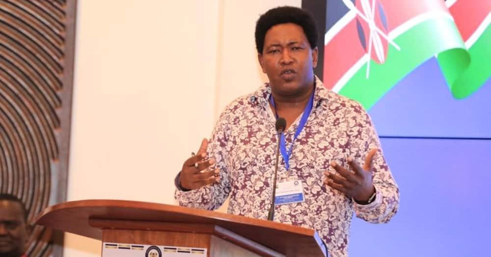 Ledama Ole Kina expresses admiration for William Ruto in coded message using Koitalel Samoei's image