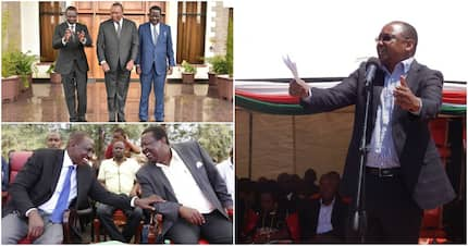 Ruto's ally wants him to have lunch with Mudavadi after hosting Uhuru and Raila