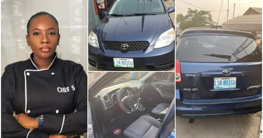 Woman buys new car after saving money for 1 year, 8 months