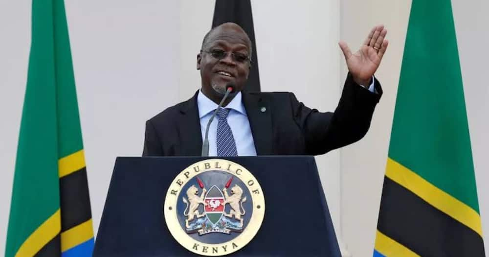 Video of Late President Magufuli Speaking in Dhaluo During Fidel Odinga's Burial Emerges
