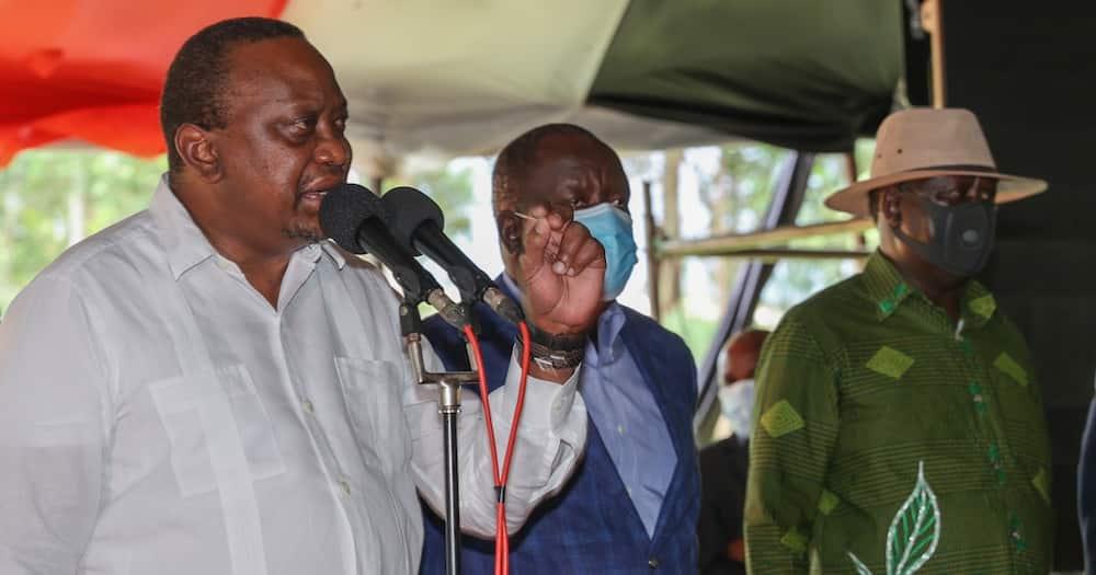 Uhuru Kenyatta asks Kisii residents to protect CS Matiang'i from insults by critics