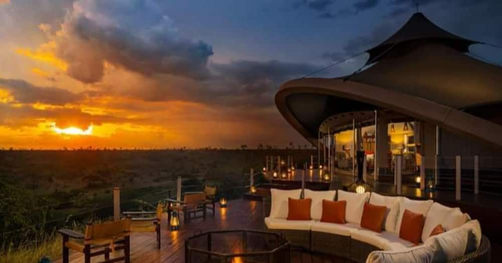 Kenyan hotel, Mahali Mzuri.