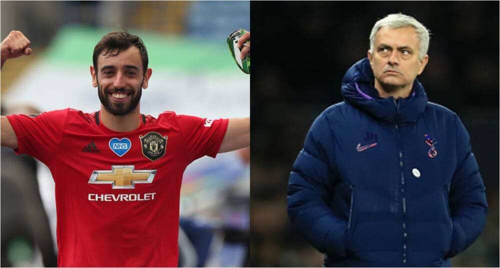 Jose Mourinho claims Fernandes had about 20 penalties to score for Man United