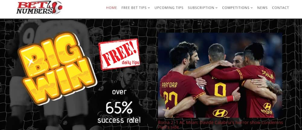 Betnumbers review: betting tips, accuracy, cost