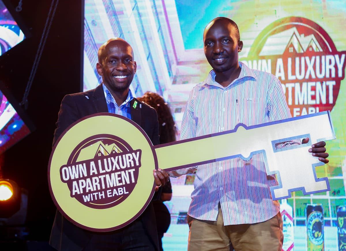 32-year-old Nairobi man wins KSh 100 million luxury apartment in EABL promotion