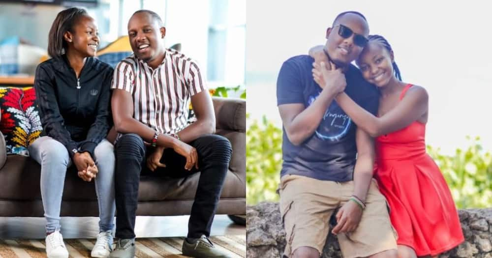 Abel Mutua's Breathtaking Wife Cuts Off Long Hair, Flaunts New Short Hairstyle