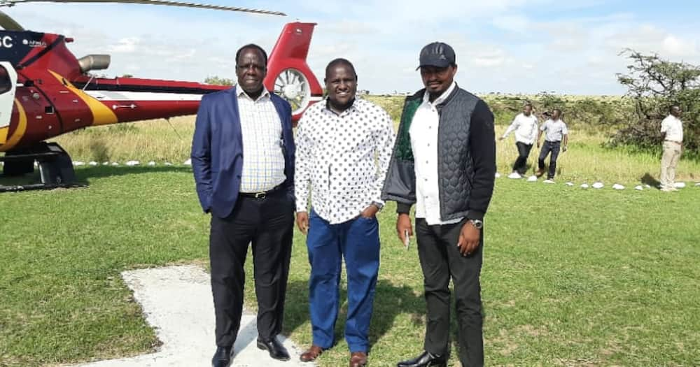 William Ruto, Wycliffe Oparanya Raise Eyebrows after Holding Nine-Hour Meeting in Narok
