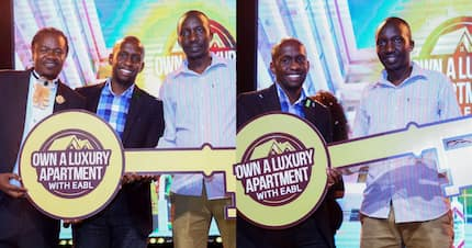 Nairobi man wins KSh 10 million two bedroom house in EABL promotion