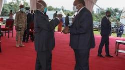Rais Uhuru Ahudhuria Hafla ya Kumuapisha Yoweri Museveni