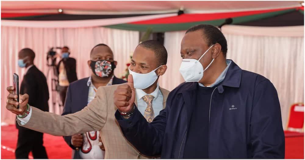 Babu Owino amsifia Rais Uhuru Kenyatta, asema tano tena