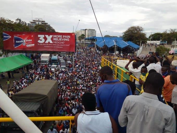 Likoni: Zaidi ya watu 13 wajeruhiwa katika mkanyagano wa feri Mombasa