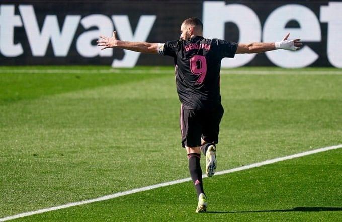 Celta Vigo vs Real Madrid: Benzema Scores Brace as Los Blancos Cut Atletico's lead in La Liga to 3 points