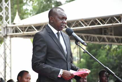 MP Oscar Sudi tells off William Ruto's critiques