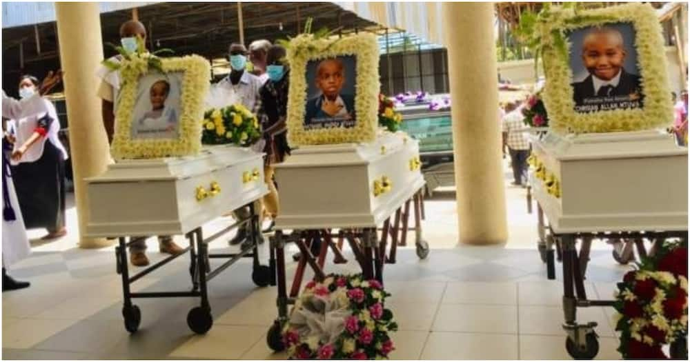Family of Five that Died at Stampede in Magufuli's Farewell at Uhuru Stadium Buried